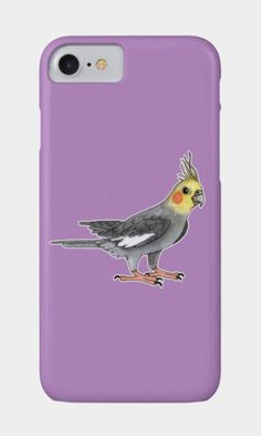 Cockatiel Samsung Galaxy, iPhone & iPod Cases by @savousepate on DBH (various colours) #cockateel #parrot #budgerigar #parakeet