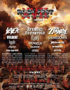 #tickets 2 Rock Fest VIP Tickets SECTION B ROW 5 CADOTT WISCONSIN please retweet