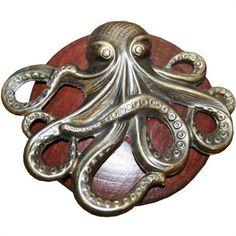 Octopus Drawer Knob this would be awesome in a Pirates of the Caribbean room!!