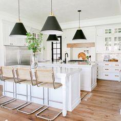 "Becki Owens on Instagram: ""Love this kitchen from @houseofjadeinteriors especially loving those hardwood floors! Hardwood floor picks + tips up on Beckiowens.com. Have a great night."""