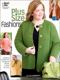 I want this book!!! I want to make the peach colored scoop neck sweater.
