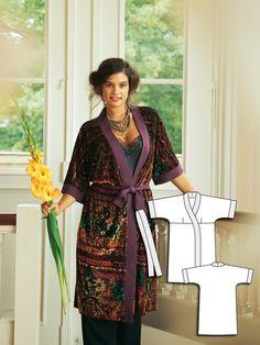 Living Art: 8 Plus Size Women's Sewing Patterns