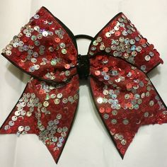 Custom & Personalized Cheer Bows www.jerseybows.com