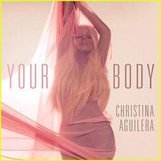 """La cantante Christina Aguilera, lanzó por Twitter su más reciente sencillo titulado """"Your body""""."""