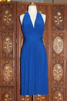 Evan piccone royal blue cocktail dress i ve had this dress for years