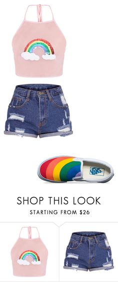 """""""Untitled #169"""" by iambeickyg on Polyvore featuring Vans"""