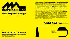 Get in touch with us at MAXXI | Rome http://www.martinelliluce.it/comunicazione/