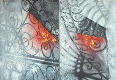 """Układ""-100x70- Akryl na płótnie Painting, Art, Art Background, Painting Art, Kunst, Paintings, Performing Arts, Painted Canvas, Drawings"