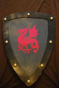 DIY sheild w foamcore. Also, a youtube tutorial on how to make it.