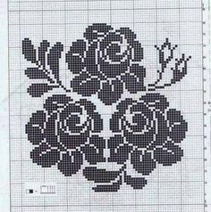 Ideas For Crochet Pillow Pattern Diagram Crochet Pillow Pattern, Tapestry Crochet, Crochet Hooks, Knit Crochet, Floral Patterns, Filet Crochet Charts, Hand Embroidery Flowers, Baby Blessing, Scandinavian Christmas