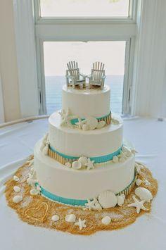 Beach-themed Wedding Cakes | Wedding Cakes | Pinterest | Themed ...