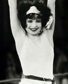 Clara Bow in a scene from Rough House Rosie, 1927.