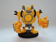 League of legends: Blitzcrank by TheJumpingGenie on Etsy