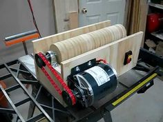 V-Drum Sander Build - Part 1