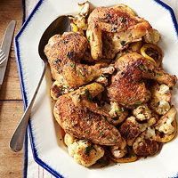 Pan-Roasted Chicken with Cauliflower - Every Day with Rachael Ray