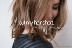 Bucket list #169 || I think I would look good but I would never do it
