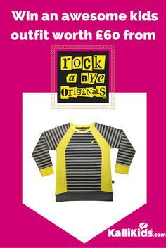 Enter this competition to win an amazing £60 outfit from Rock a Bye Originals