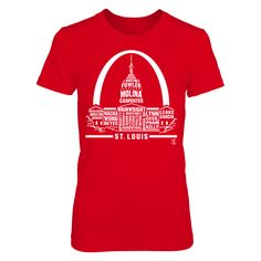 Yadier Molina - Skyline 2017 Roster T-Shirt, Yadier Molina Official Apparel - this licensed gear is the perfect clothing for fans. Makes a fun gift!  The Yadier Molina Collection, OFFICIAL MERCHANDISE  Available Products:          District Women's Premium T-Shirt - $29.95 District Men's Premium T-Shirt - $27.95 Gildan Long-Sleeve T-Shirt - $33.95 Gildan Fleece Crew - $39.95 Next Level Women's Premium Racerback Tank - $29.95 Gildan Youth T-Shirt - $23.95 Gildan Unisex Pullover Hoodie - $44.95…