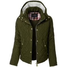 LE3NO Womens Quilted Long Sleeve Puffer Jacket ($33) ❤ liked on Polyvore featuring outerwear, jackets, pocket jacket, quilted puffer jacket, green fleece jacket, quilted jacket and lightweight quilted jacket