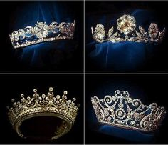 Tiaras of British Royal Family