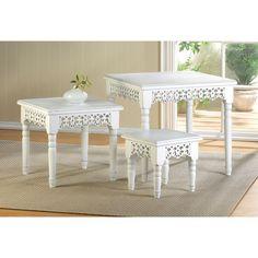 Flourish Nesting Table Trio