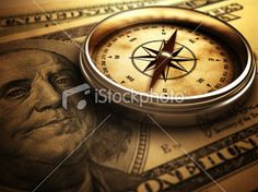 Direction of the Money Royalty Free Stock Photo