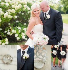 A Classic Black Tie & Cream Wedding at the Pinnacle Golf Club | KariMe Photography
