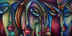 Urban Expressions Painting by Michael Lang