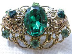 Hey, I found this really awesome Etsy listing at https://www.etsy.com/listing/184240412/emerald-green-brooch-emerald-green-pin
