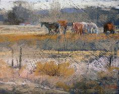 Good Neighbors by Margi Lucena Pastel ~ 8 x 10 Pastel Landscape, Abstract Landscape, Landscape Paintings, Landscapes, Abstract Art, Soft Pastel Art, Pastel Drawing, Soft Pastels, Beautiful Paintings