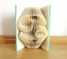 Folded book zodiac signs, star sign book folding, book art, birthday present, book sculpture by DreamedIntoLife on Etsy