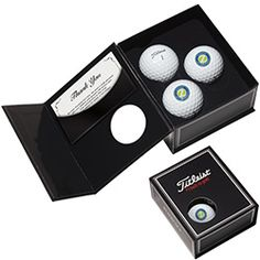 Norwood by BIC Graphic Titleist® ProV1® 3-Ball Appreciation Box (62328). #promoproducts