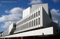 Finlandia Hall in Helsinki in Finland designed by Alvar Aalto