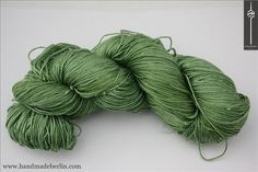 Yarn Edition Silk & SeaCell / Seide mit Algen 005 Demeter (grün)