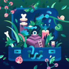 """다음 @Behance 프로젝트 확인: """"Illustration for Harward Business Review"""" https://www.behance.net/gallery/34607331/Illustration-for-Harward-Business-Review"""