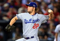 CrowdCam Hot Shot: Los Angeles Dodgers starting pitcher Clayton Kershaw throws against the Atlanta Braves during the first inning of game one of the National League divisional series playoff baseball game at Turner Field. Photo by Daniel Shirey