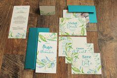 Sehr schöne Blumige Hochzeitskarten bzw. EInladung :)