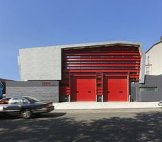 FDNY Rescue Company 3. Architect Ennead Architects LLP. Awesome. Really awesome.
