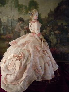 Great france fashion doll--francois gaultier 1895