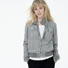 Shop WOMEN - OUTERWEAR at James Perse - Los Angeles