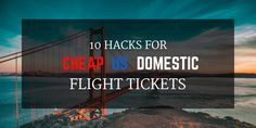 10 Hacks For Cheap US Domestic Flight Tickets | There are about 30,000 flights soaring high up in the US skies every day. That's a heck of a lot of airplanes and even more passengers. You'd be surprised to know that people sitting next to each other on a plane have each paid a different price for their flights. Want to be the one with the best deal? Then we have something for you! Being flexible, considering nearby airports, and buying your flights well in advance gets you only this far…