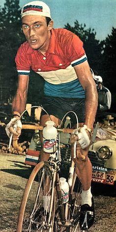 Tour de France 1958. 13-07-1958, 18^Tappa. Bédouin - Mont Ventoux. Charly Gaul (1932-2005)