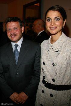 King Abdullah ll and Queen Rania الملك عبد الله الثاني بن الحسين