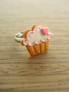 Cupcake Cookie Ring