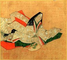 Anshin Karino, great poet of Heian era