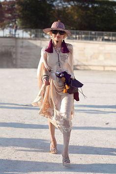 Catherine Baba, stylist