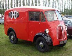 Co-op delivery van Cool Trucks, Big Trucks, Chevy Trucks, Lamborghini, Ferrari, Classic Cars British, Classic Trucks, Vintage Vans, Vintage Trucks