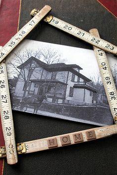 Ruler frame