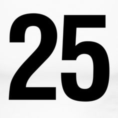 Twenty-five and its meaning in the Bible