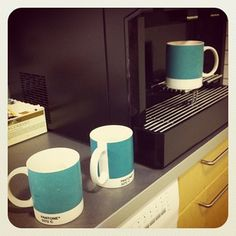 Pantone coffee mugs